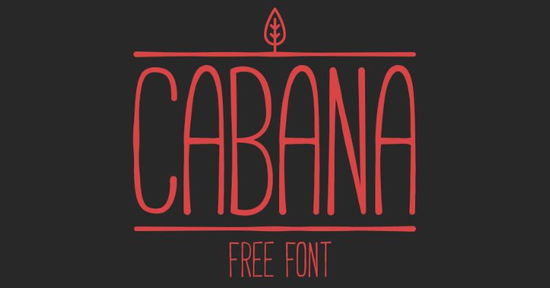 cabana pretty fonts