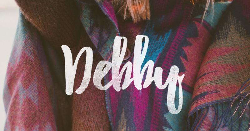 debby pretty fonts