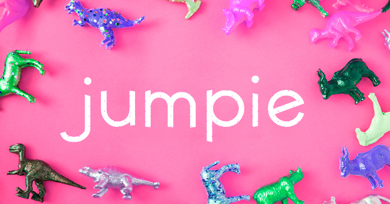 jumpie pretty fonts