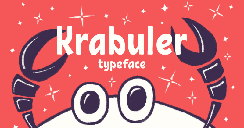 krabuler pretty fonts