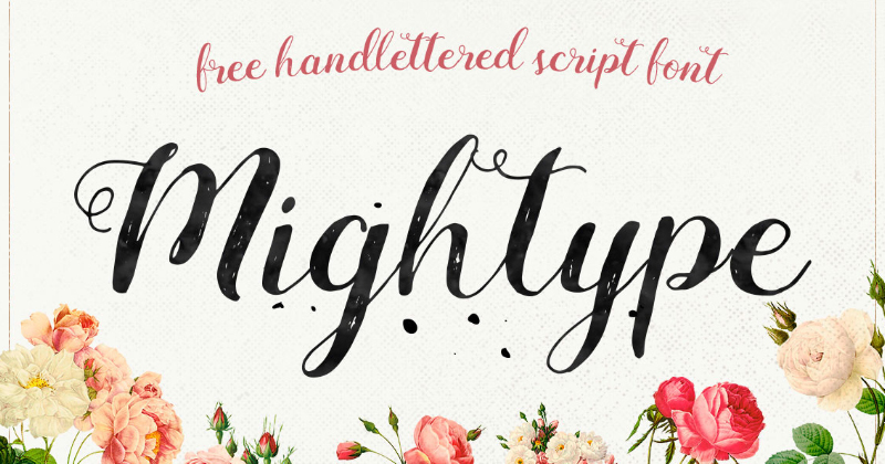 mightype pretty fonts