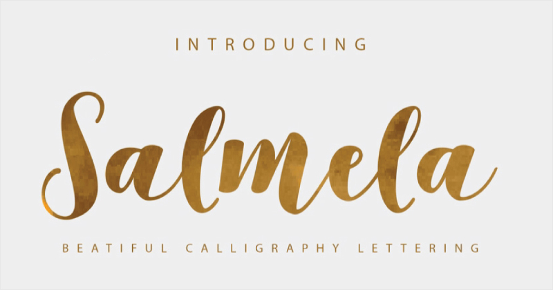 salmela pretty fonts