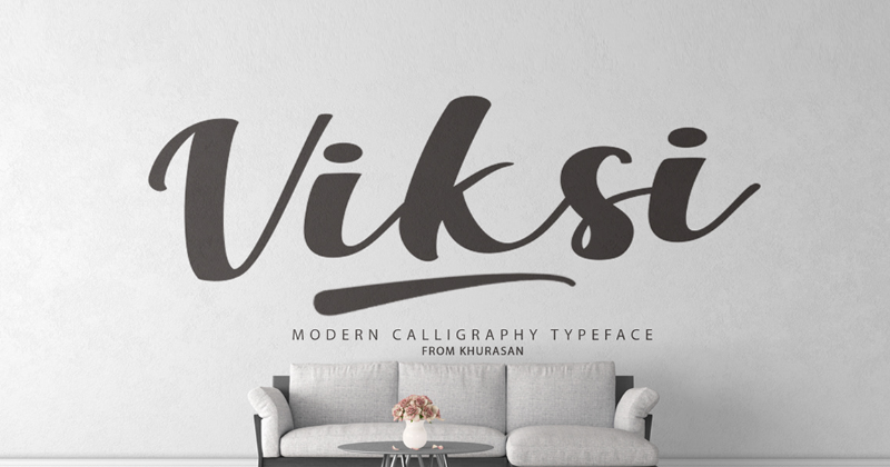 viksi pretty fonts