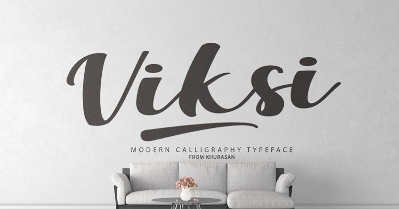 viksi pretty fonts