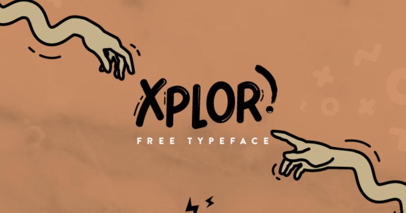 xplor pretty fonts