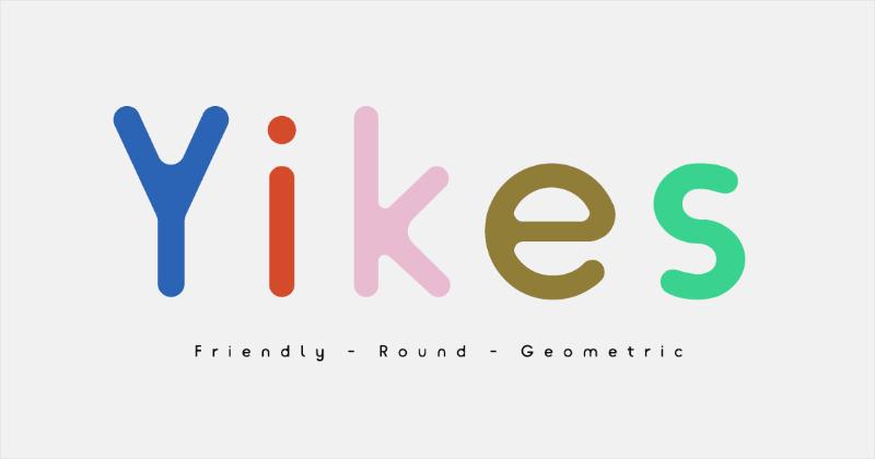 yikes pretty fonts