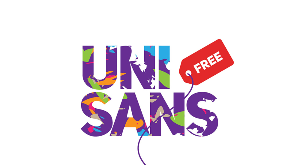 UniSans free modern fonts