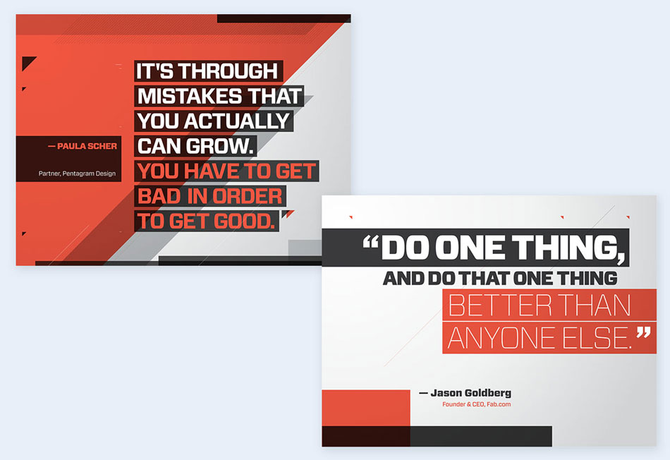 Use-quotes-between-slides-2 creative presentation ideas
