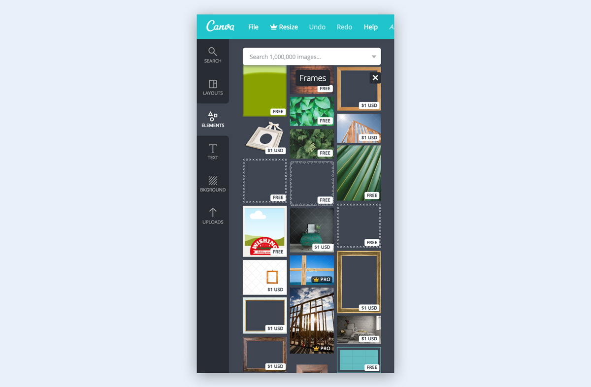 canva paid graphic assets icons images