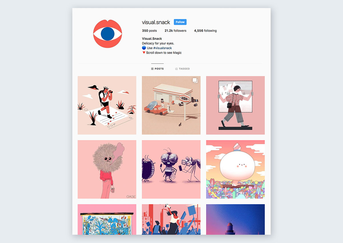 Visual-Snack-Instagram-Curation pastel colors