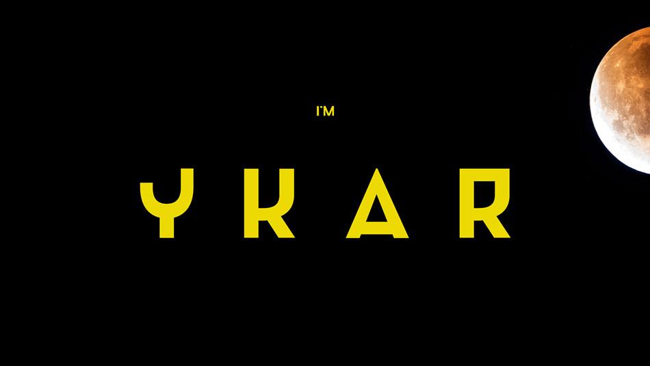 Ykar free modern fonts
