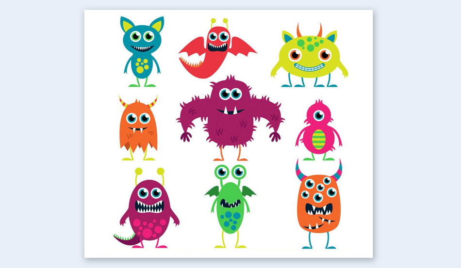 be kid friendly cut out illustrations creative presentation ideas