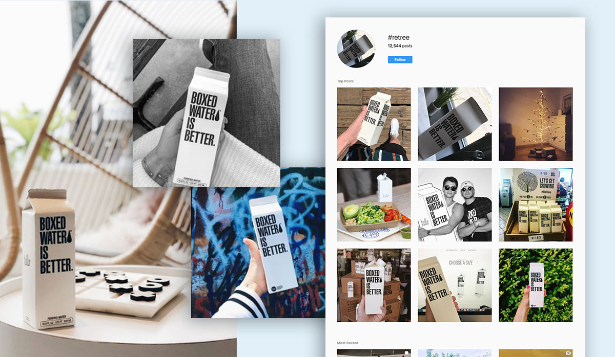 boxed water social media influencer marketing
