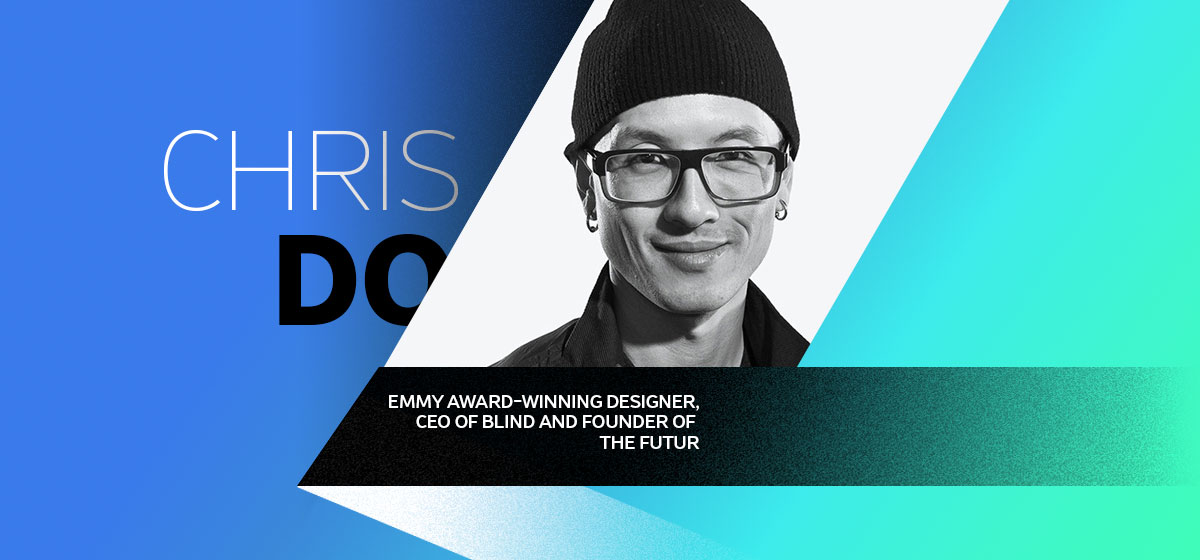 chris do graphic designers tips bio card
