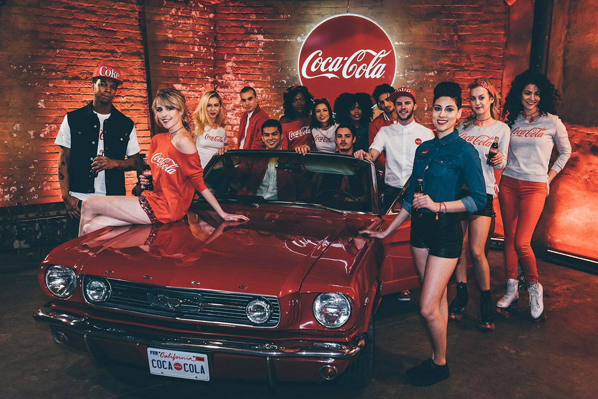 color psychology in marketing - coca cola example