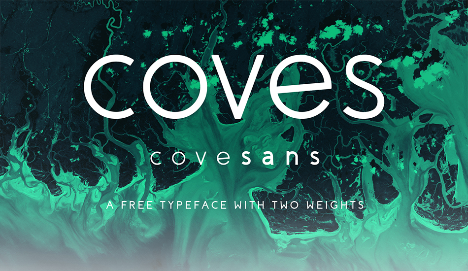 coves free modern fonts