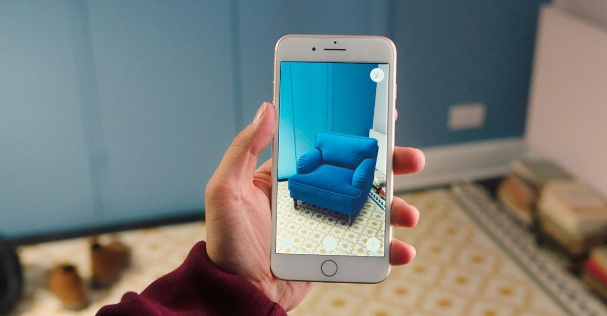 ecommerce marketing visual content interactive imagery augmented reality ikea place app