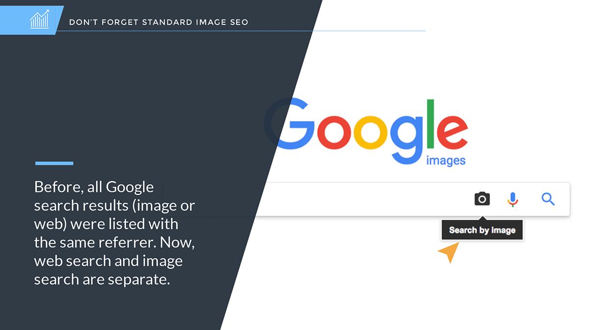 google analytics results changes image referrer