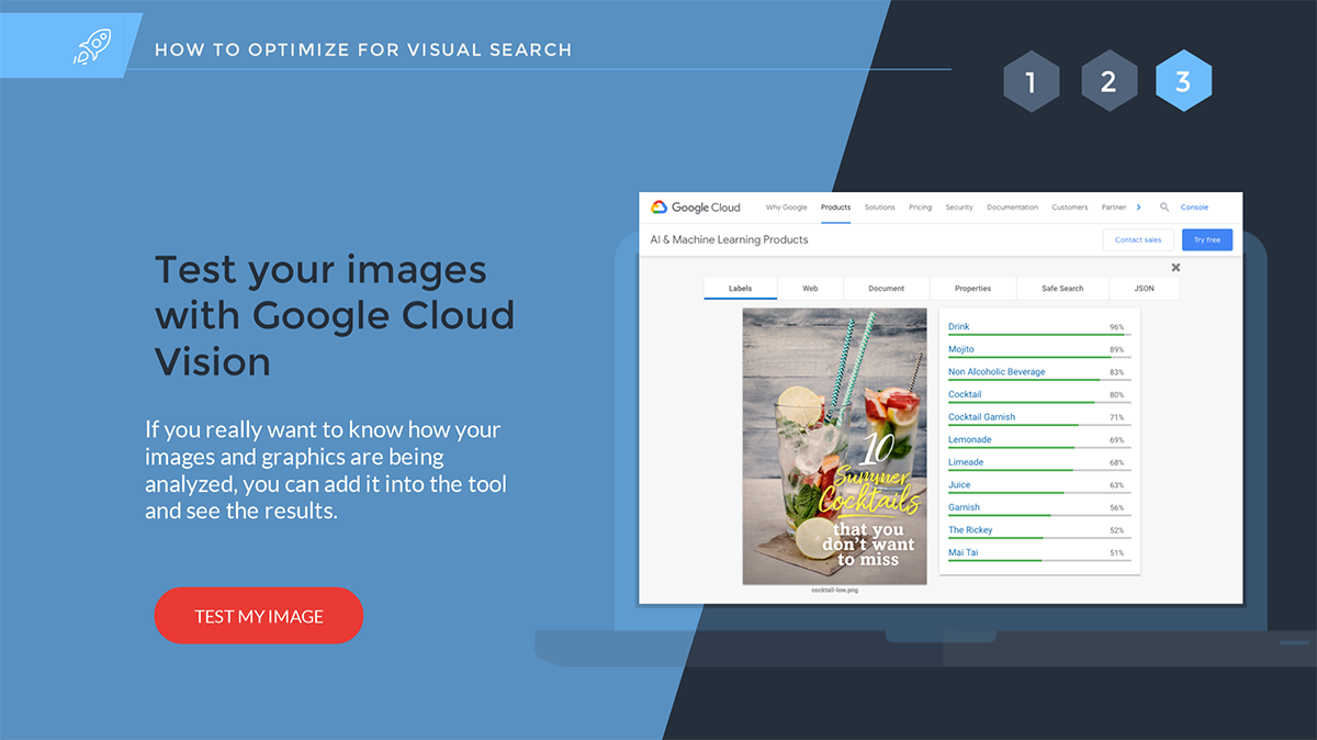 google cloud vision seo images how to optimize images for visual search