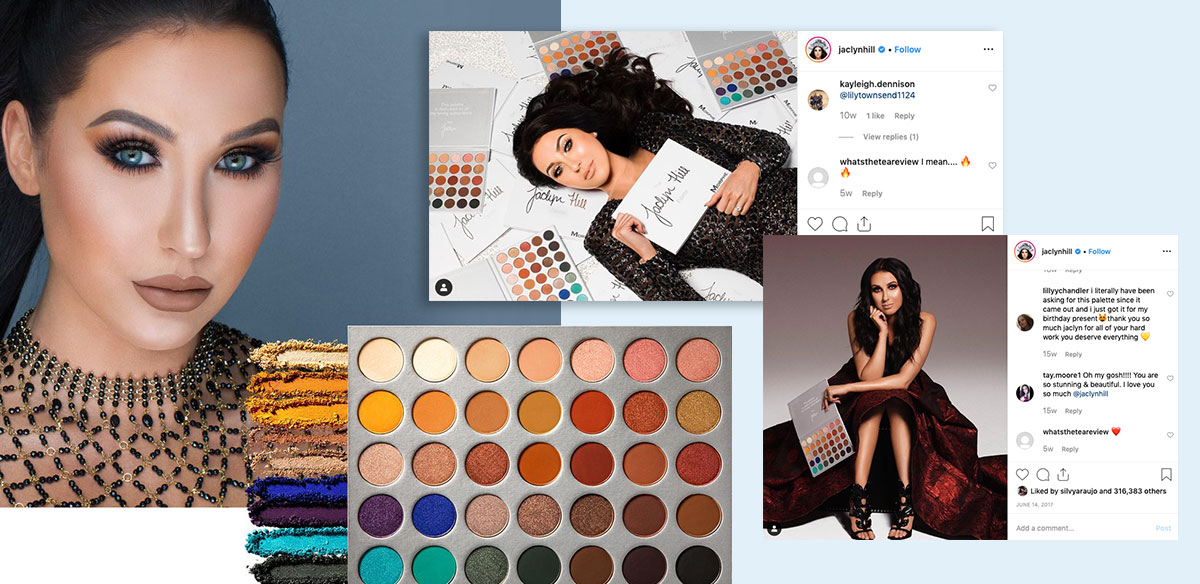jaclyn hill social media influencers long term partnerships product co-creation