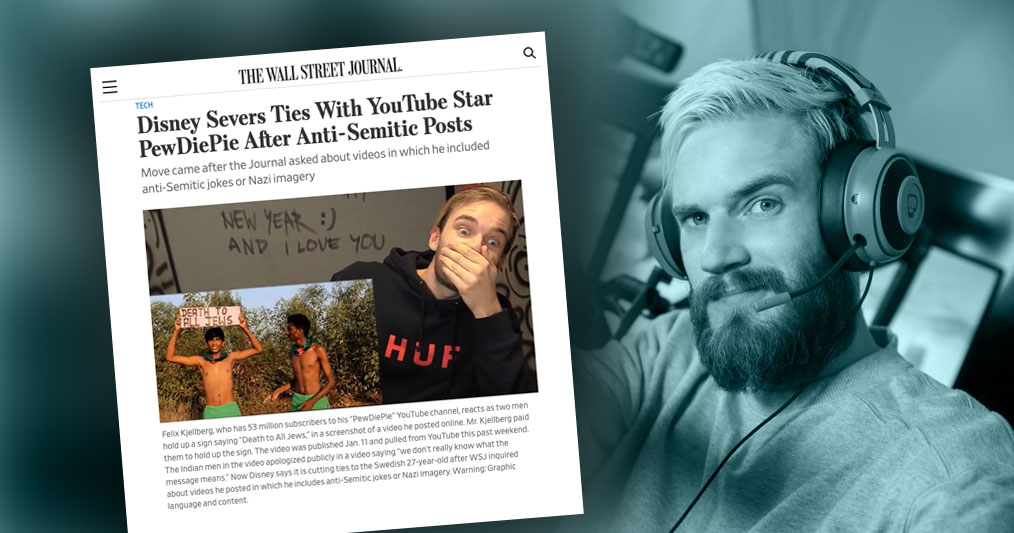 pewdiepie social media influencer marketing