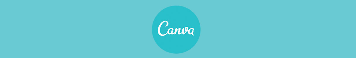 Canva's logo against a teal background
