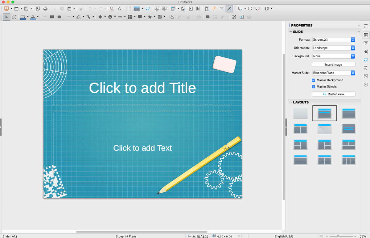 powerpoint alternatives presentation software libreoffice screenshot 1