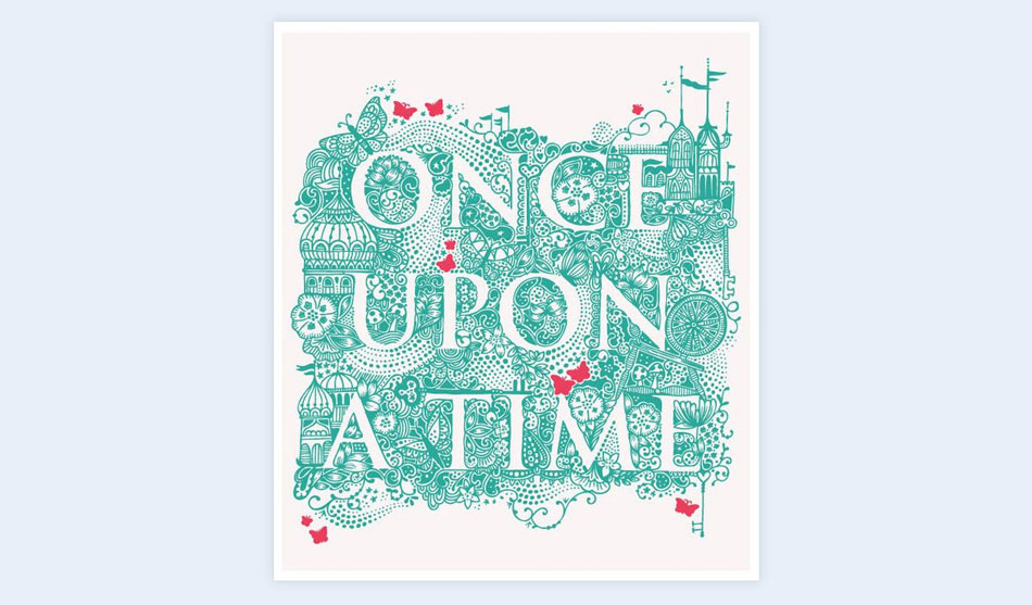 start with once upon a time creative presentation ideas