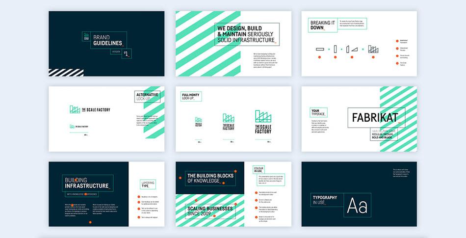 stripes creative presentation ideas