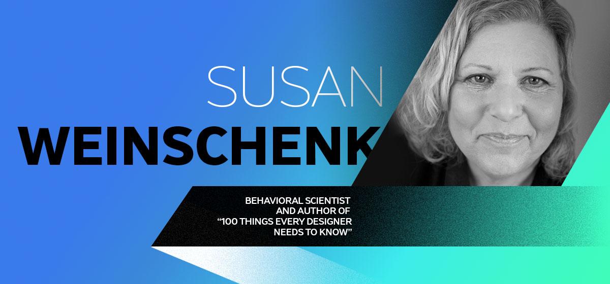 susan weinshenk graphic designers bio card