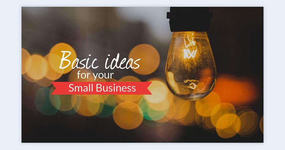use a bokeh background creative presentation ideasv