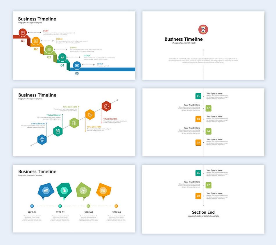 use timelines in your slides creative presentation ideas